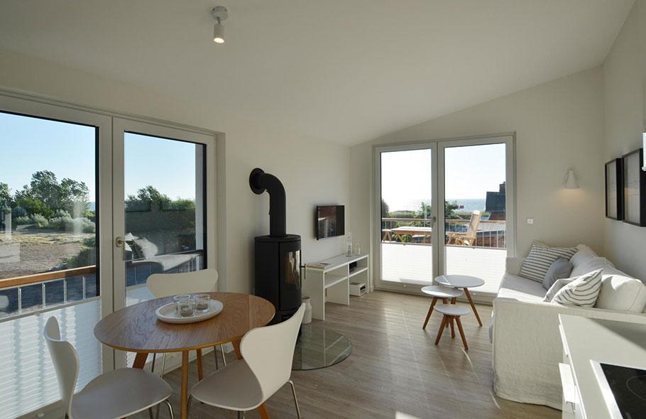 Ferienwohnung Kopenhagen für 2 Personen mit Garten, Balkon und Meerblick