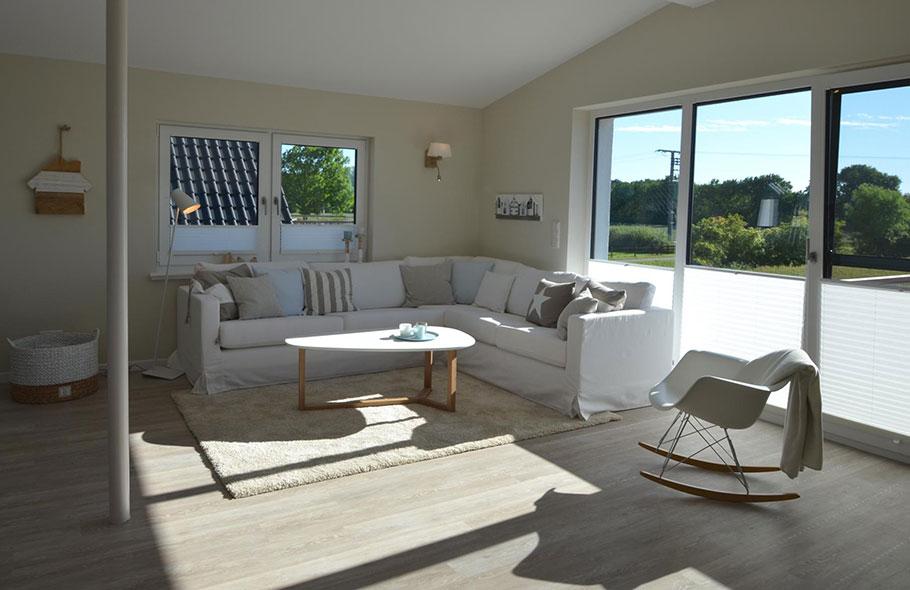 Ferienwohnung Langeland für 6 Personen mit Balkon und Meerblick